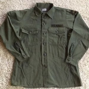 Vintage US Army Jacket Authentic Ft Bragg